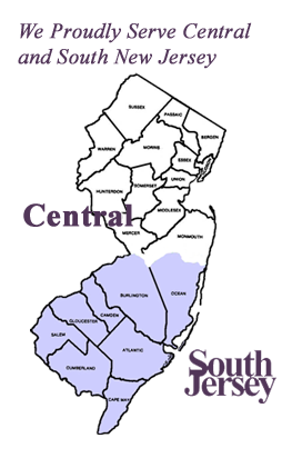 A+ Senior Care - We Proudly Serve Central and South New Jersey